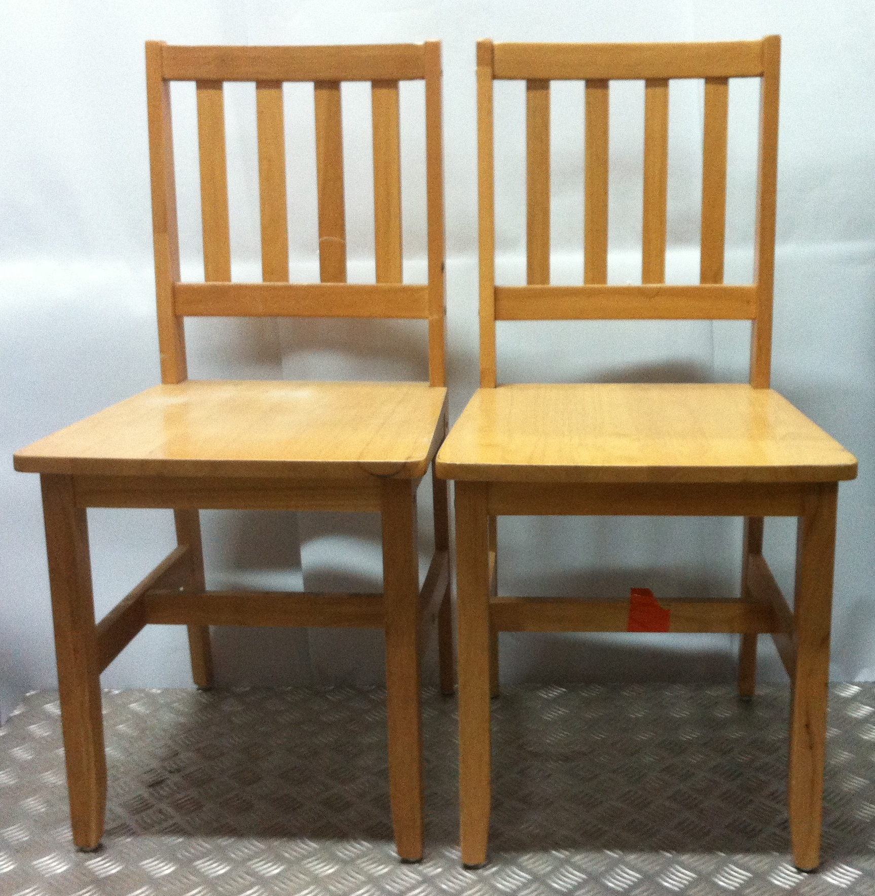 Lot 21 - 4x Small Wooden Chairs