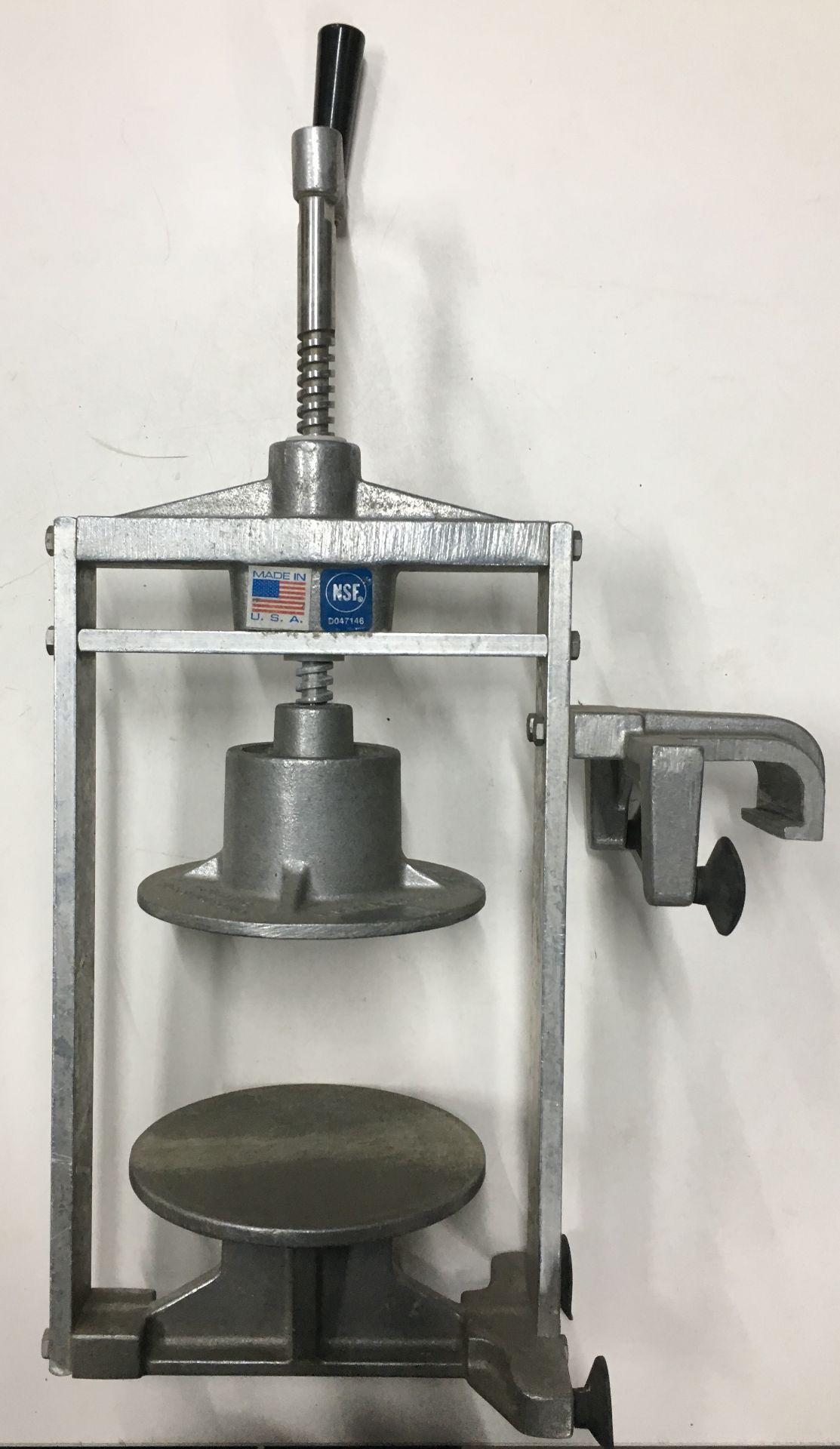 Lot 14 - Nemco N55800 Easy Tuna Press for Food Prep