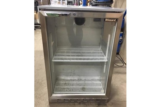 Lot 12 - Blizzard BZ-BAR2SS Under-Counter Refrigerator