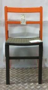 Lot 23 - Retro Old School Chair