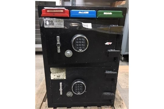 Lot 10 - CSS Twin Time-Lock Safe