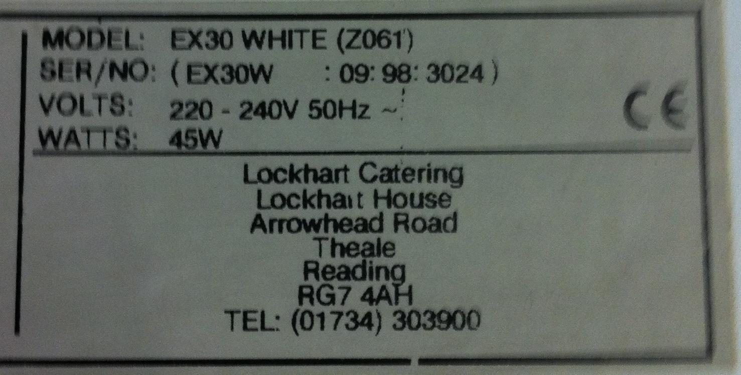 Lot 35 - 2 x Lockhart EX30 Insect Control Unit