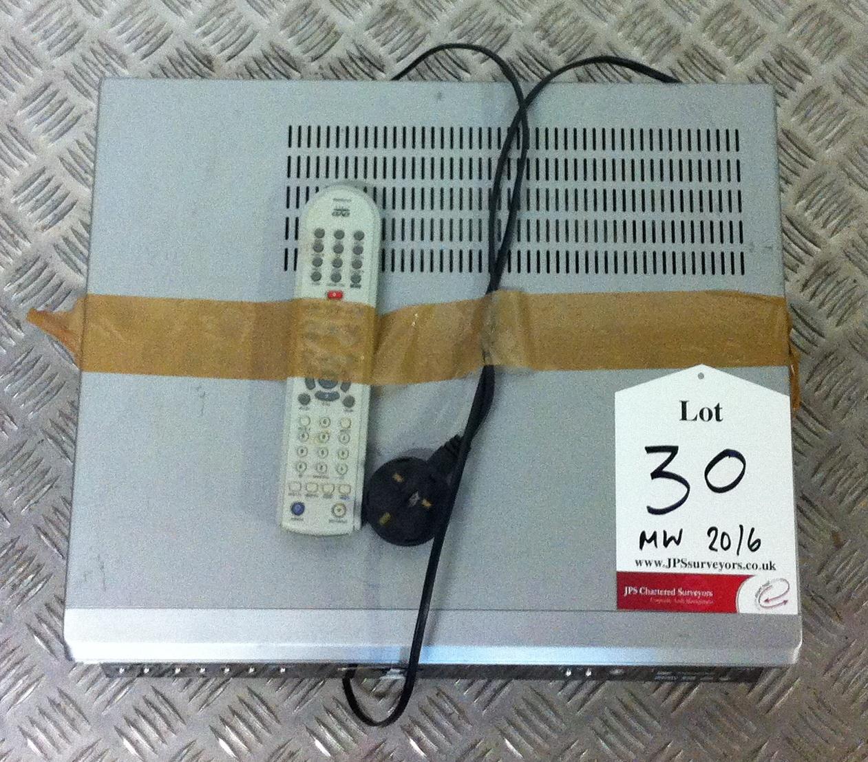 Lot 30 - Bush Video/DVD Recorder