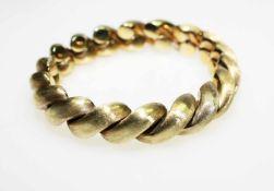 Goldenes Armband 585/f gest. ca. 20 cm lang.Brgw. 39,5 g