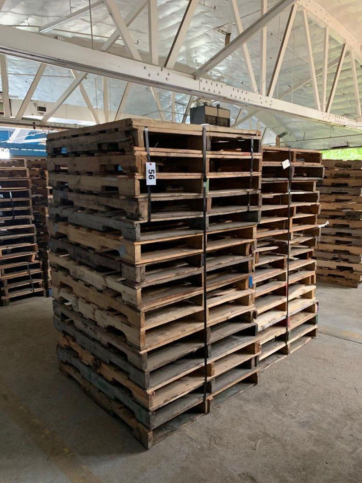Lot 56 - Lot of Skids (2 stacks)