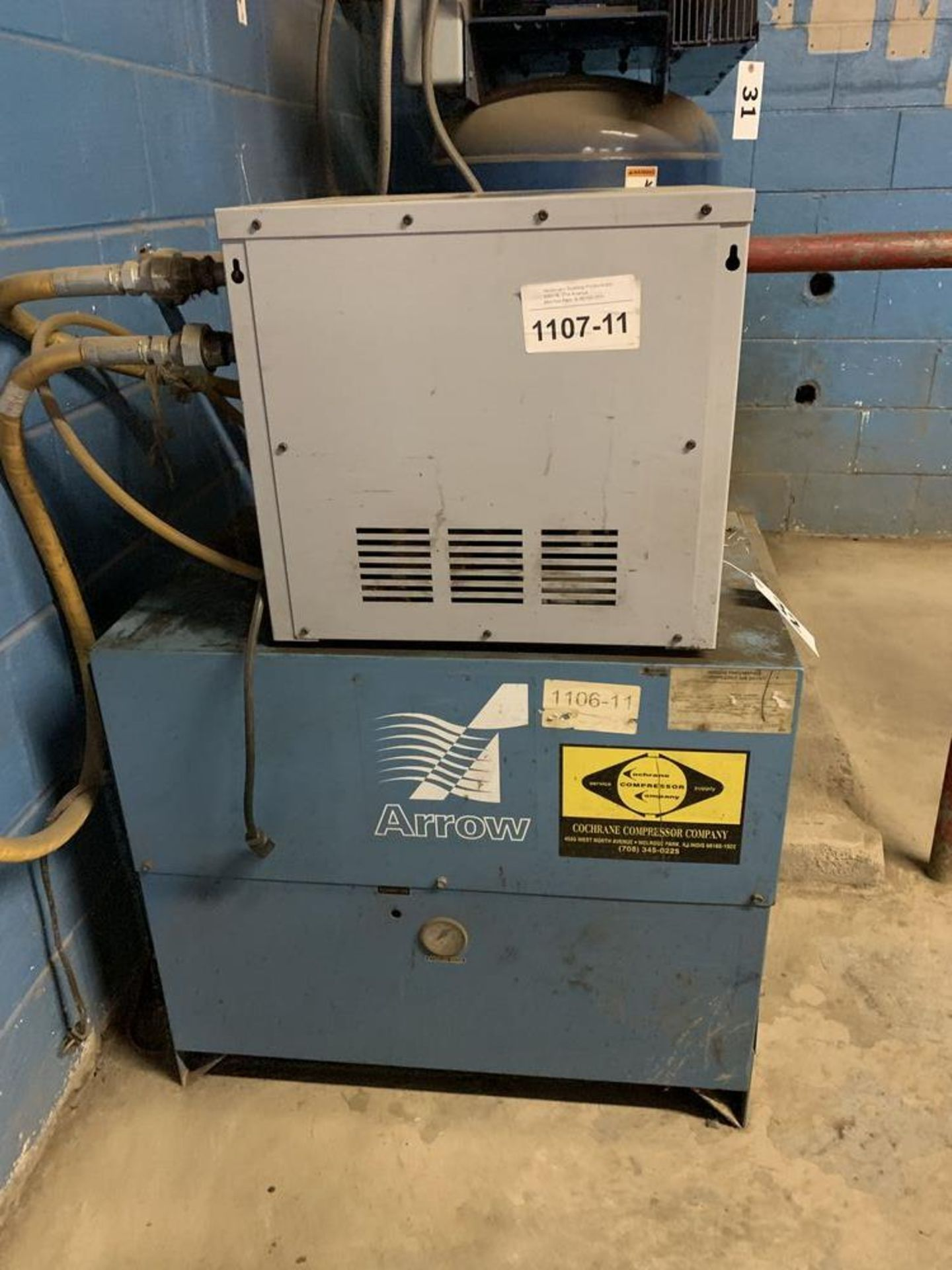 Lot 32 - Pneumatech ADA-25 Air Dryer and Arrow Air Dryer