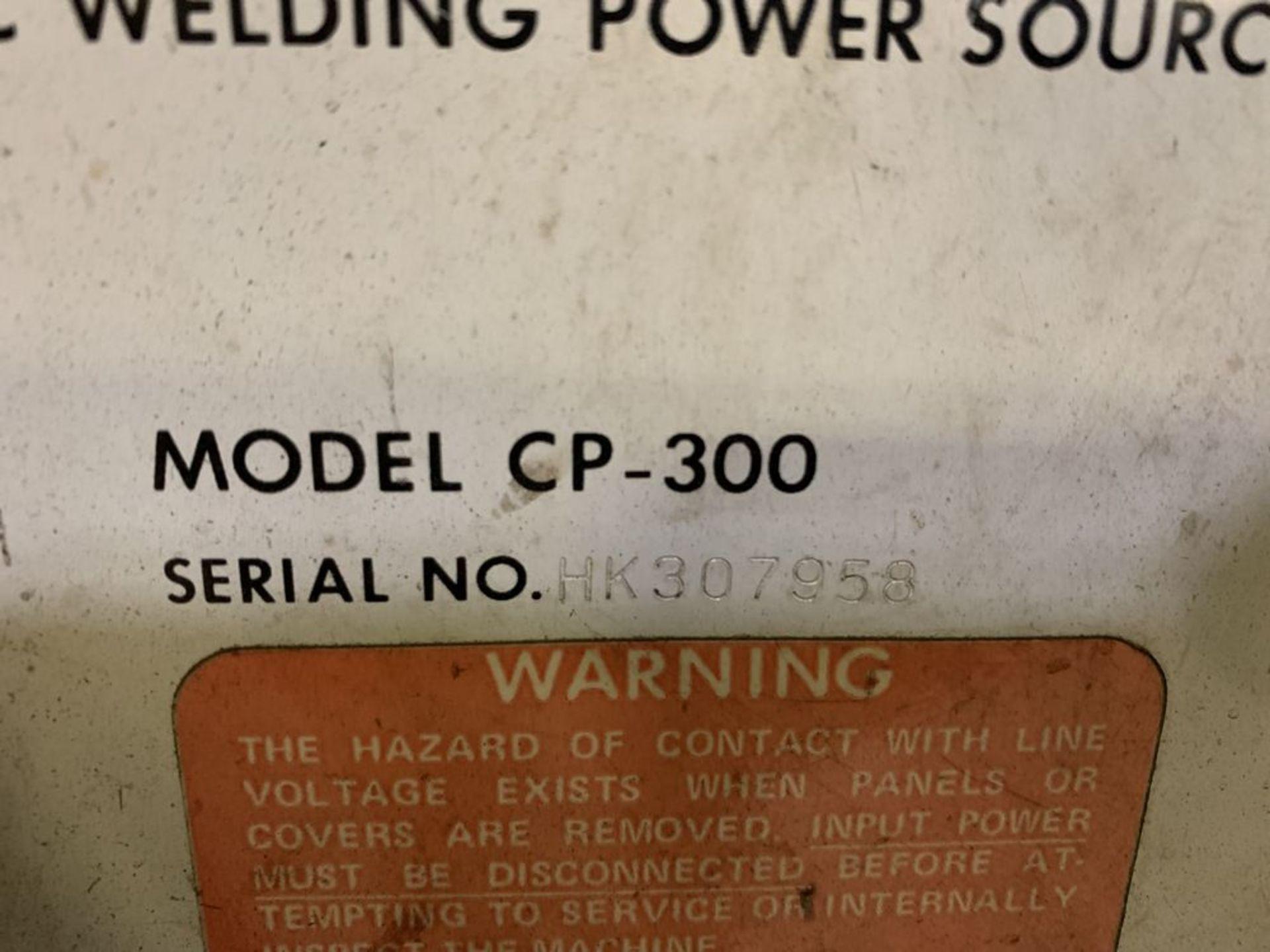 Lot 15 - Miller CP-300 Welder