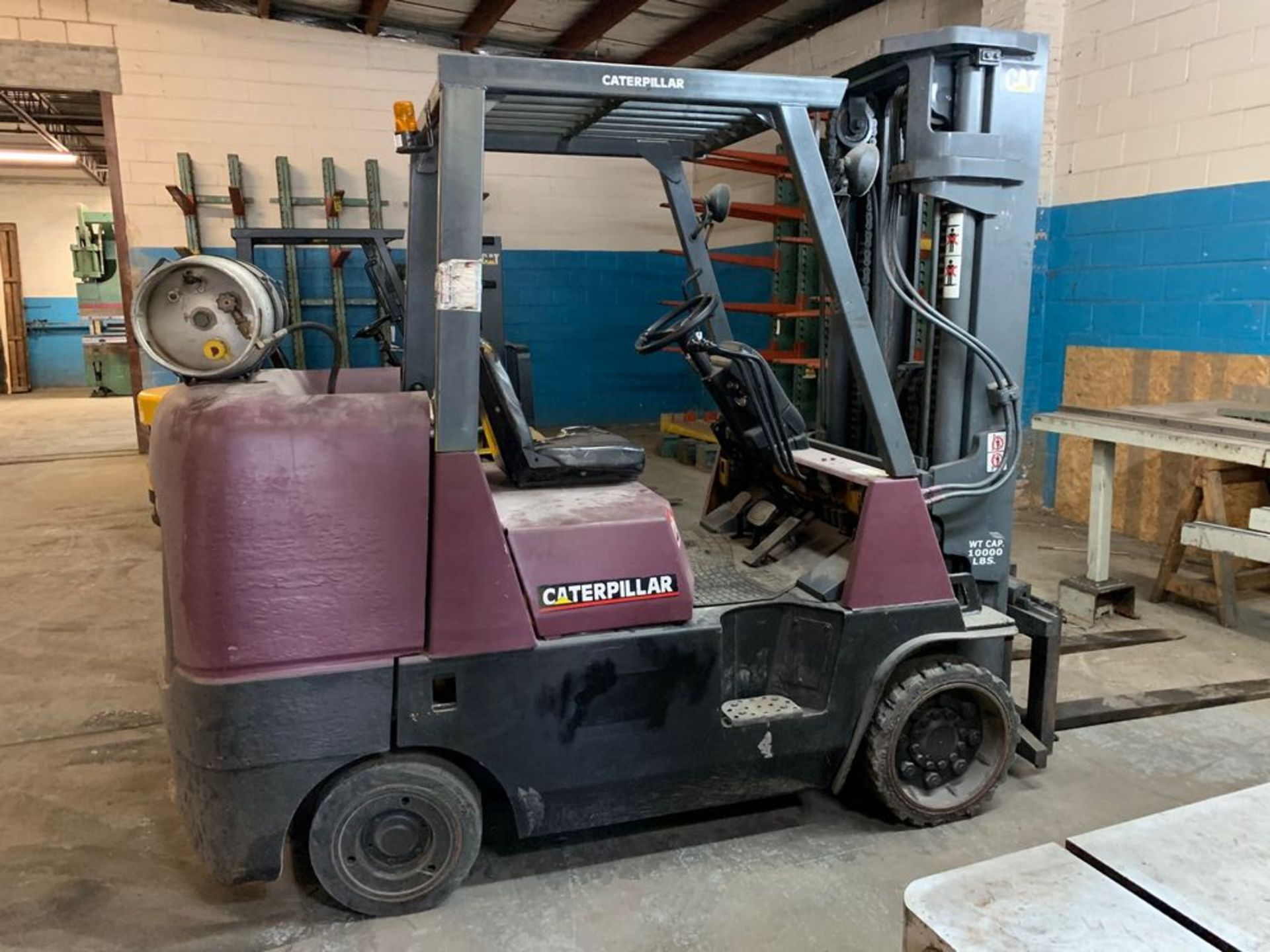 Lot 36 - 10,000 lb. Catepillar Forklift Model GC45KS1, Propane Tank NOT Included, s/n: AT87A01589