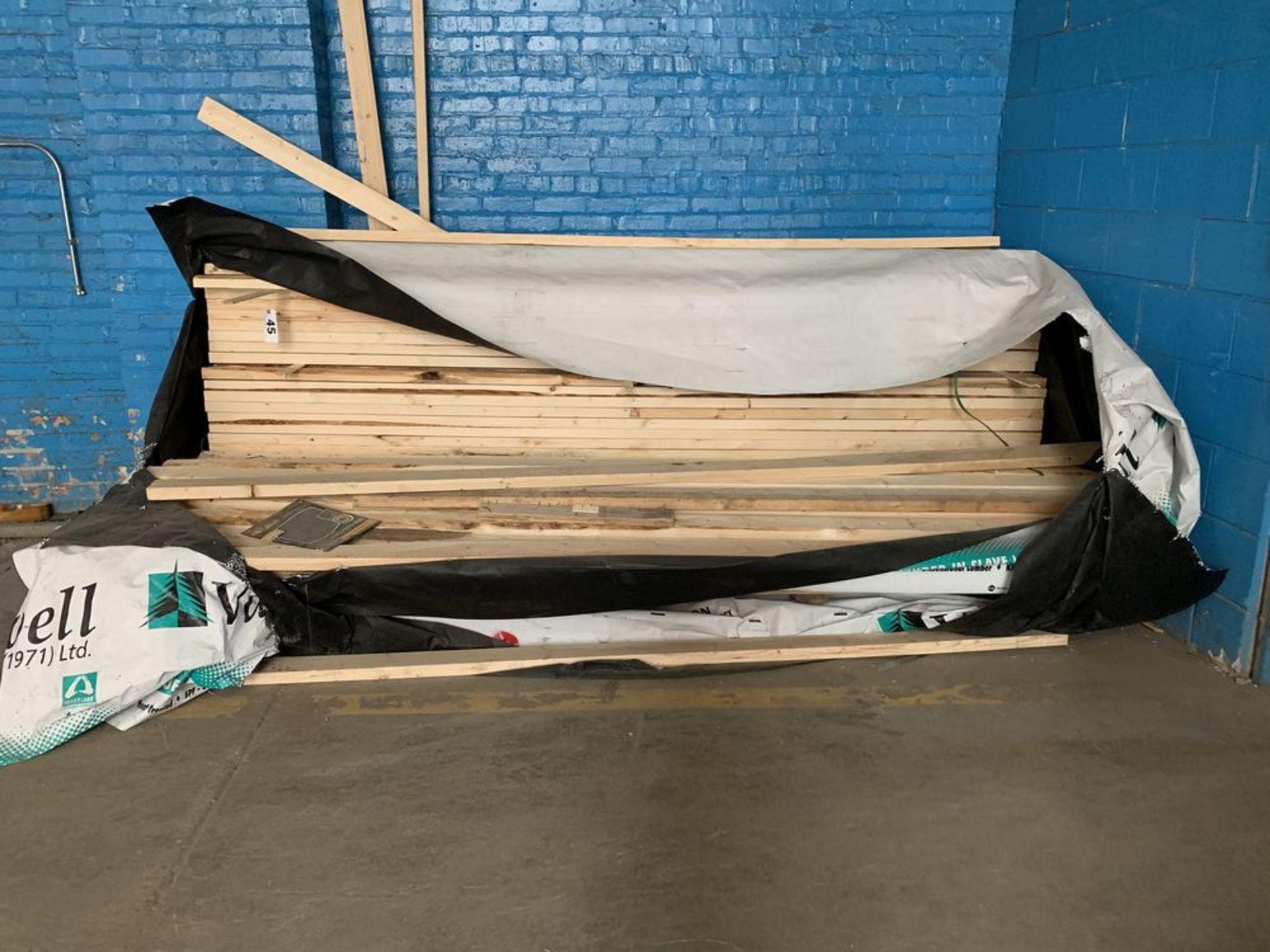Lot 45 - Lot of Wood (2x4's)