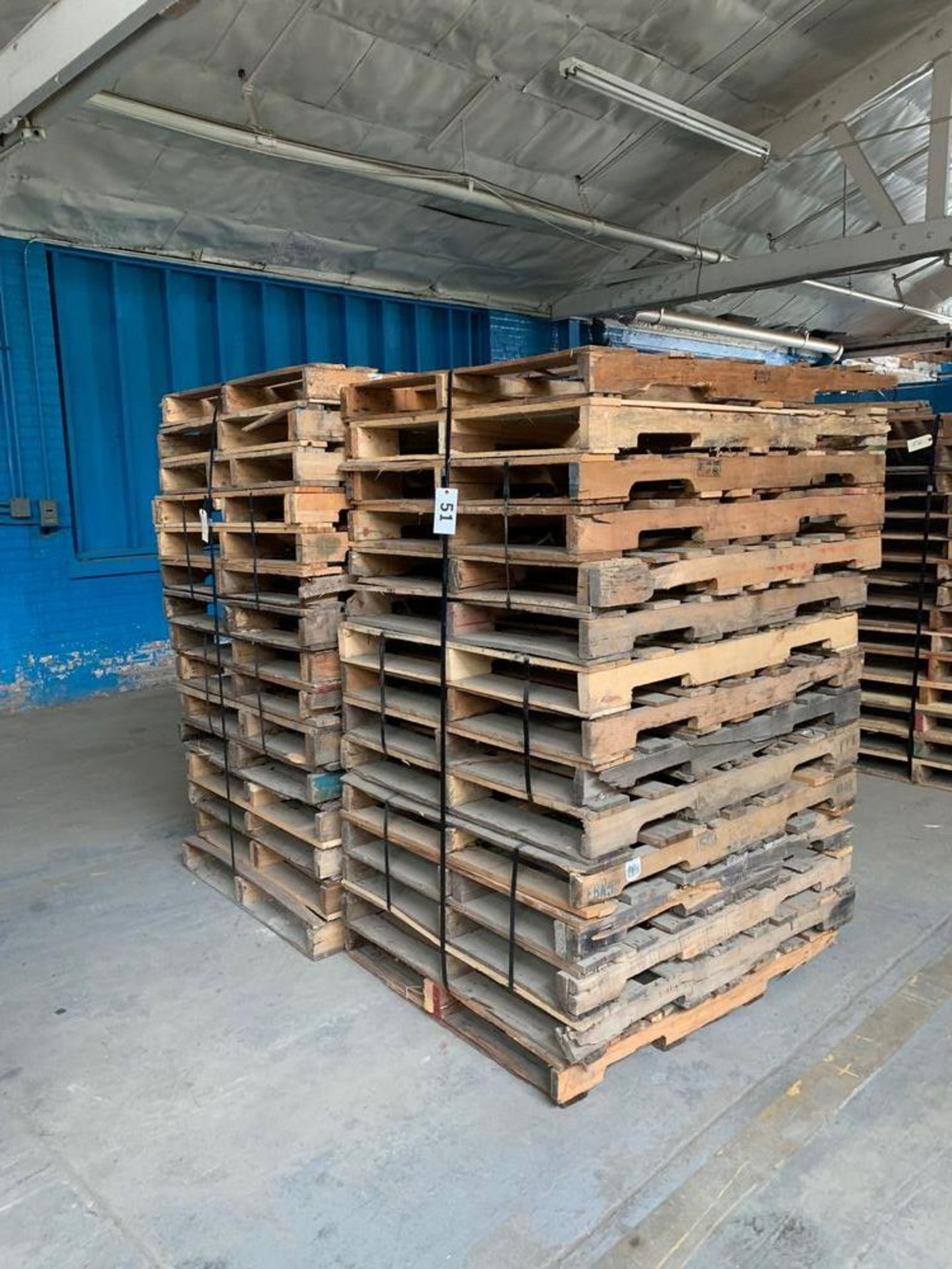 Lot 51 - Lot of Skids (2 stacks)