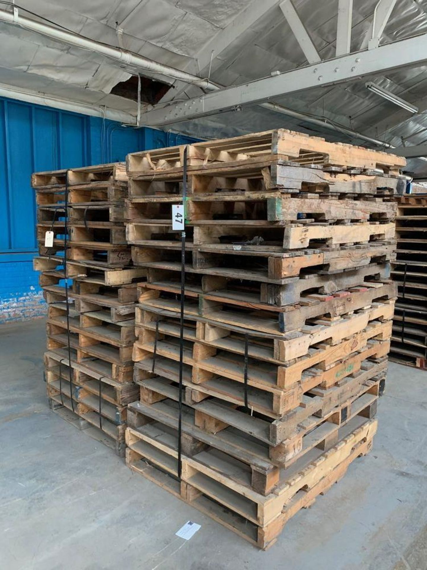 Lot 47 - Lot of Skids (2 stacks)
