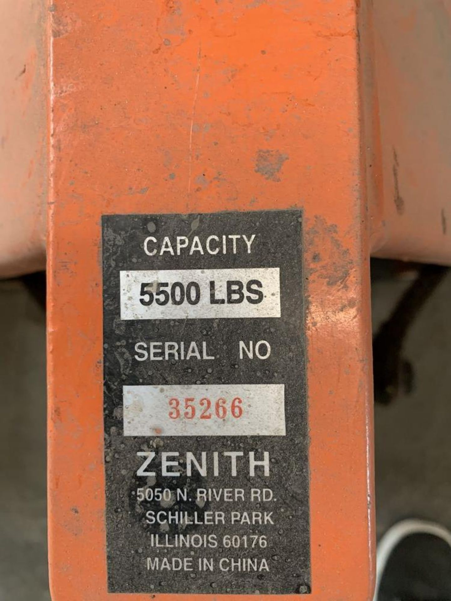 Lot 41 - (2) 5,500 lb. Pallet Jacks