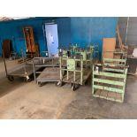 Lot 61 - (8) Push Carts