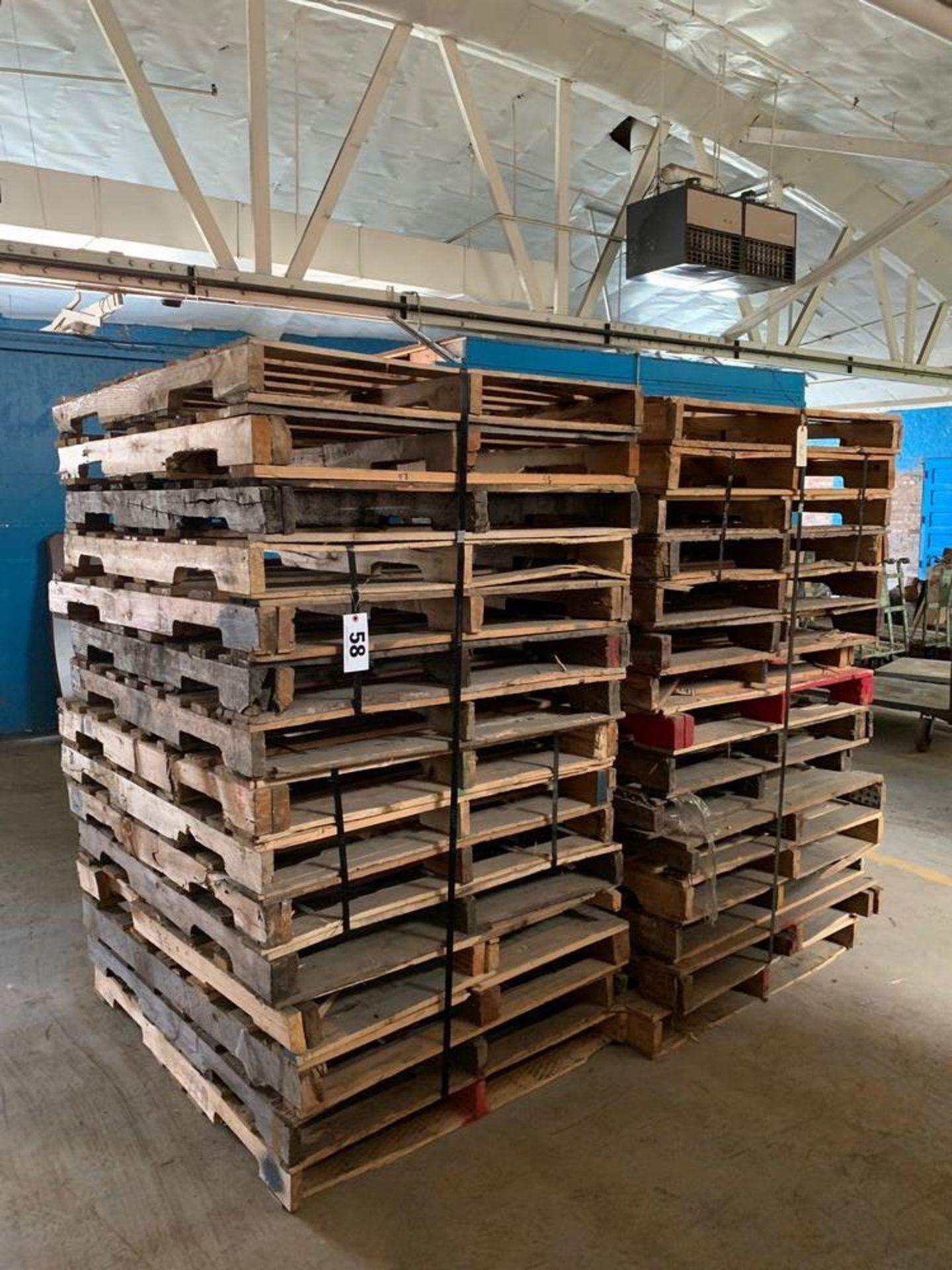 Lot 58 - Lot of Skids (2 stacks)