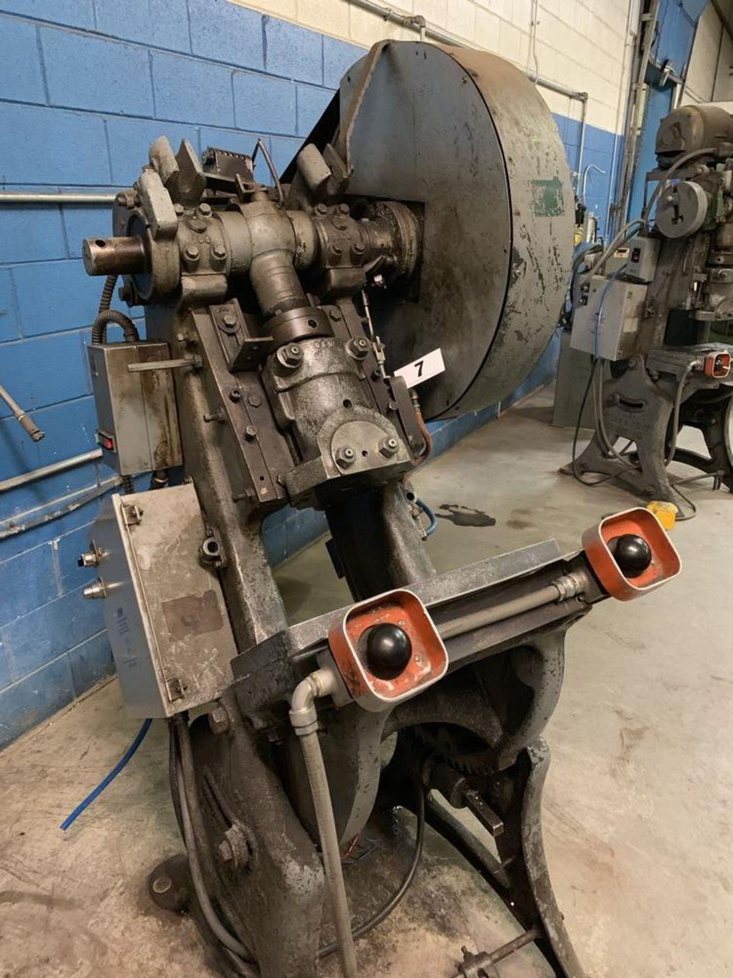 Lot 7 - Walsh Air Actuated Mechanical Clutch O.B. I. Press
