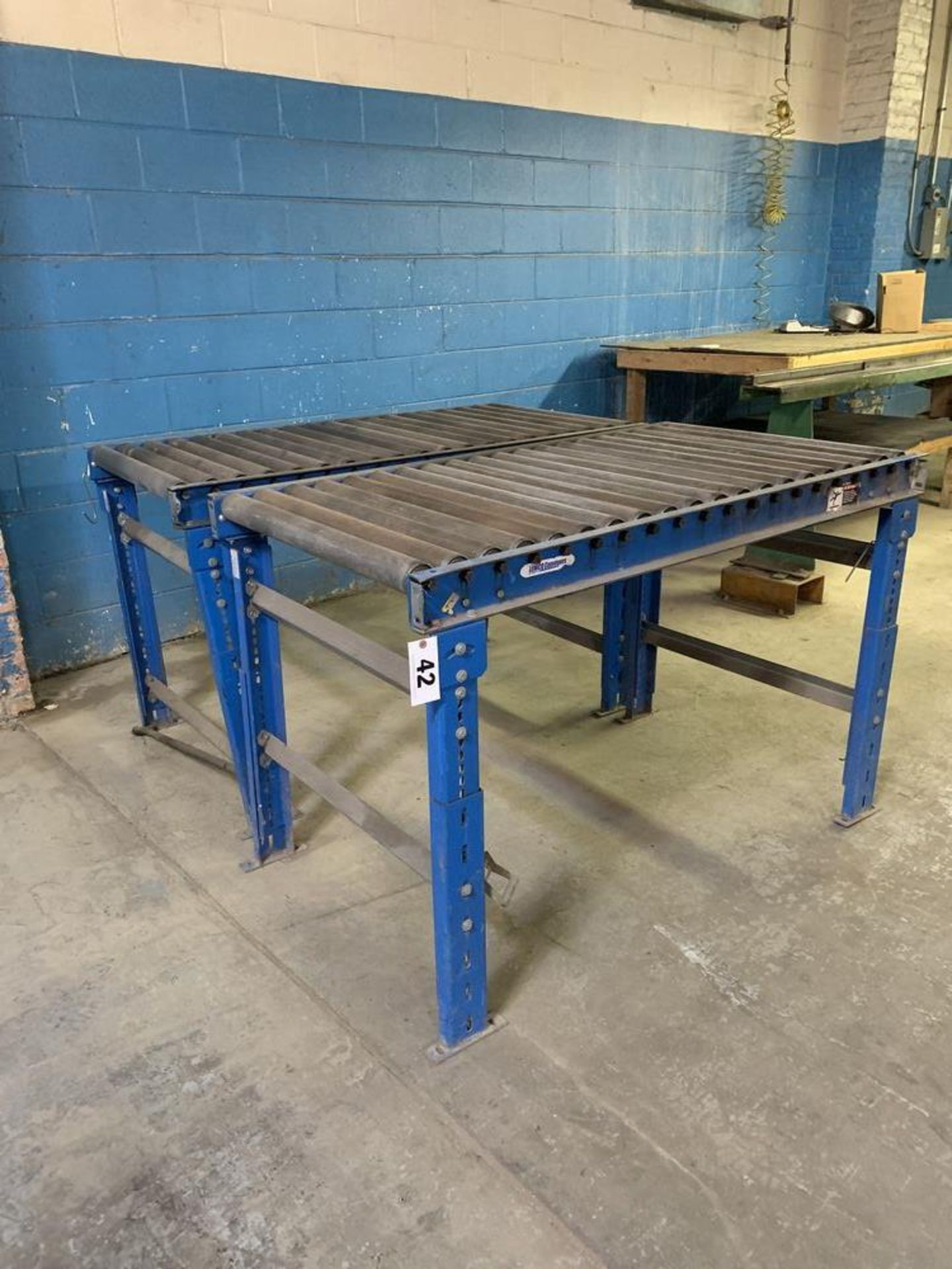 Lot 42 - 2 Roller Conveyors