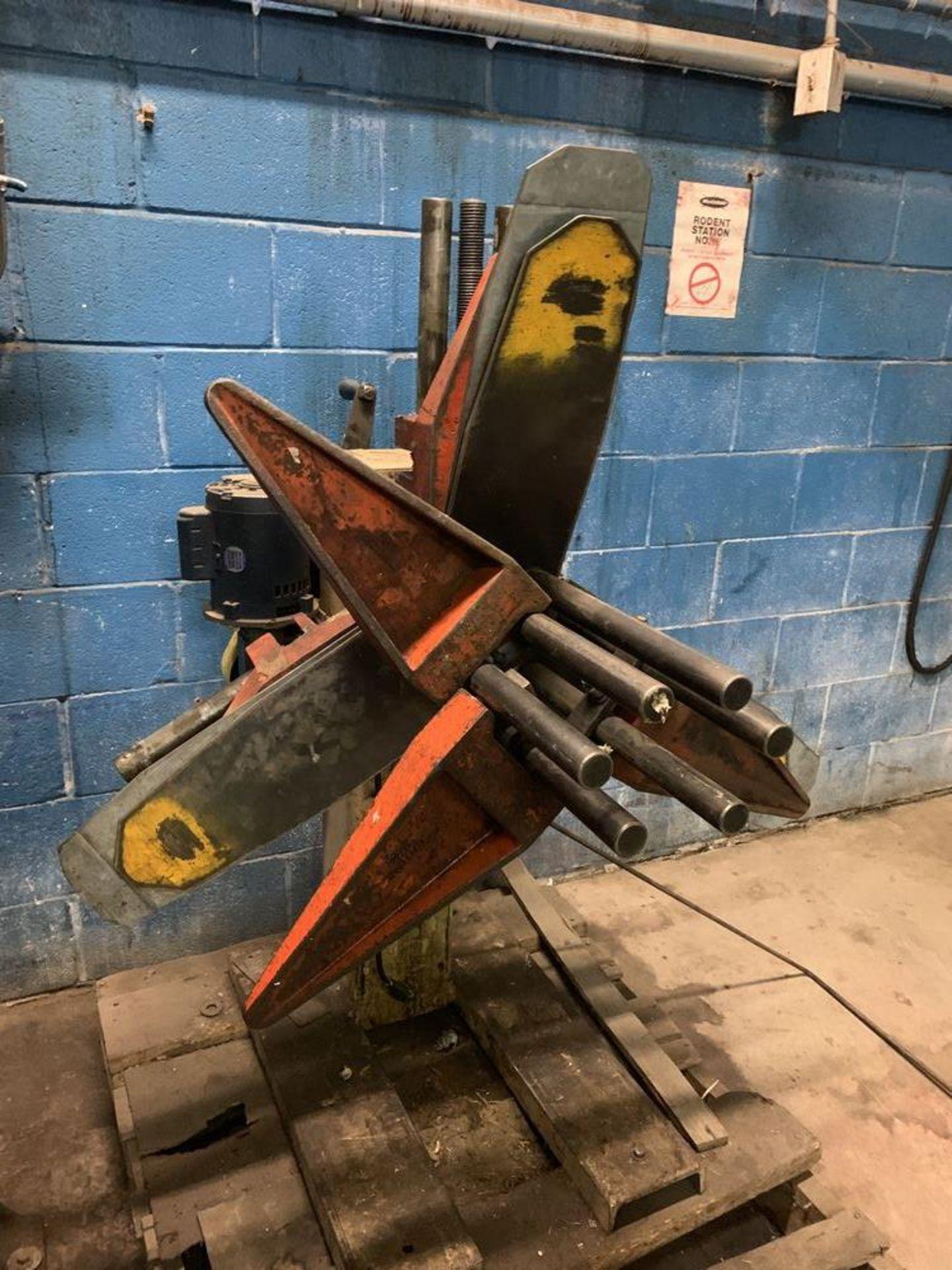 Lot 8 - Press Room Equip Coil Reel Model ASRM-131200