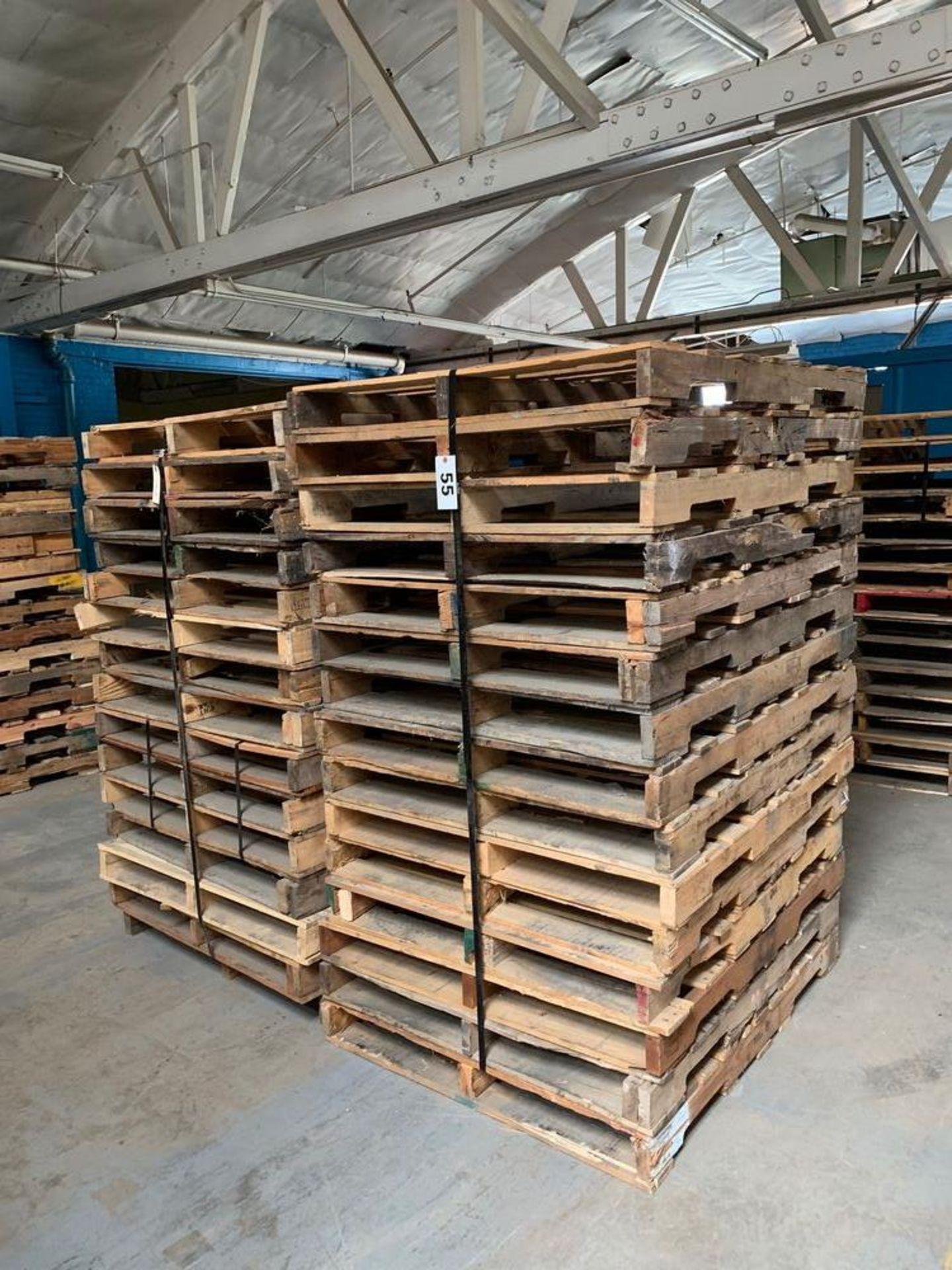 Lot 55 - Lot of Skids (2 stacks)