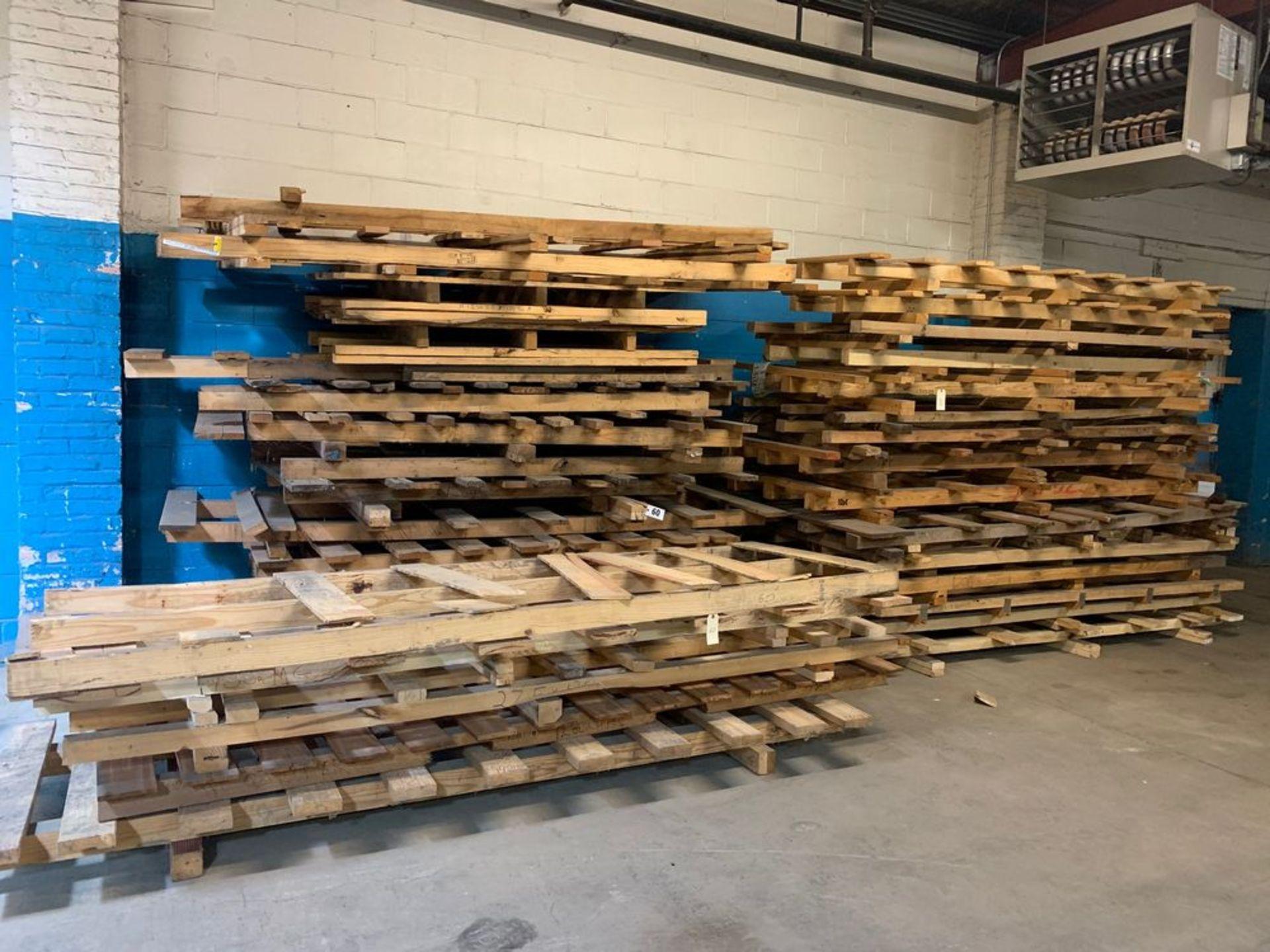 Lot 60 - Lot of Large Skids (3 stacks)