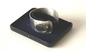 Montre bracelet pour femme des années 70 en argent massif 800 de la marque BUCHERER [...]