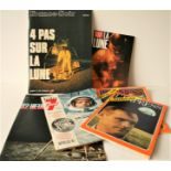 Lot 4 - Ensemble de 5 magazines français parus durant la mission APOLLO XI en juillet 1969 [...]