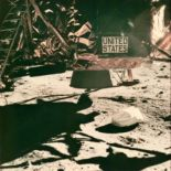 Lot 33 - Nasa. Mission Apollo 11. Rare point de vue de la partie basse du module lunaire [...]
