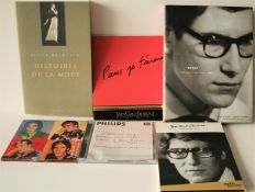 1. DEBUT, Yves Saint Laurent, 2002, Photographs by Pierre Boulat, 2. DVD : Yves [...]