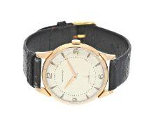 """Armbanduhr: sehr seltene, außergewöhnlich große rotgoldene vintage 18K Herrenuhr von Movado, """""""