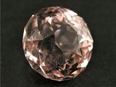 Seltener, großer Morganit von über 20ctCa. 17mm Durchmesser, ca.23,5ct, gute Farbe, sehr kleine