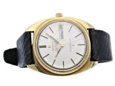 Armbanduhr: Omega Constellation Day-Date Chronometer Ref.168.029 von 1968Ca. Ø35mm, Stahl mit