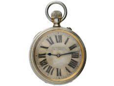 Taschenuhr: interessante und seltene Longines, Ankerchronometer, geliefert an Leuschars & Son, ca.
