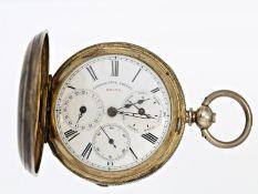 """Taschenuhr: sehr seltene Taschenuhr für den chinesischen Markt mit Originalbox, sog. """"Ramagraph"""","""