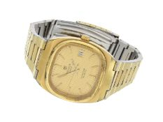 "Armbanduhr: vintage Herrenuhr, Tissot ""Seastar"", 70er/80er JahreCa. 36 × 43mm, Edelstahl"