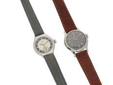 Armbanduhr: Konvolut von 2 mechanischen vintage-Damenuhren der Marke Omega1. ca. Ø24mm,