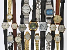 Armbanduhr: großes und interessantes Konvolut aus mechanischen vintage Damen-Armbanduhren