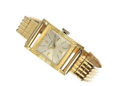 Armbanduhr: vintage Damenuhr der Marke Candido, Ref.5072 mit Originalpapieren von 1963Ca. 16 × 24mm,