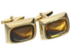 Manschettenknöpfe: neuwertige, ausgefallene vintage ManschettenknöpfeCa. 21 × 15mm, ca. 16g, 8K