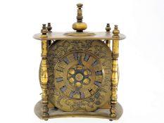 """Tischuhr: Fragment einer seltenen japanischen Kopfkissenuhr """"Makura Dokai"""", vermutlich 1. Hälfte 19."""