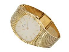 Armbanduhr: seltene vintage Herrenuhr von Seiko, 18K Gold, ca. 1970Ca. 32mm breit, ca. 18cm lang,