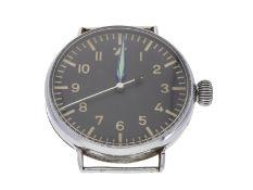 """Armbanduhr: sehr seltene Wempe Fliegeruhr aus dem 2. Weltkrieg, FL23883 """"Thommen""""Ca. Ø55mm,"""