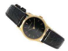 Armbanduhr: automatische vintage Damenuhr aus dem Hause Jaeger Le Coultre, 18K GoldCa. Ø24mm,