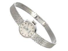 Armbanduhr: hochwertige, ungetragene goldene vintage Damenuhr der Marke Stowa, 60er JahreCa. 18cm