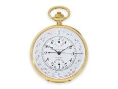 "Taschenuhr: seltener, sehr hochwertiger Longines Chronograph ""Chrono-Tachymeter Cadran Brevetè S.G."