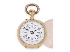 Taschenuhr/Anhängeuhr: Rarität, eine der kleinsten Louis XV Präzisionstaschenuhren der Welt, Auguste