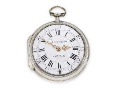 Taschenuhr: hochqualitative Spindeltaschenuhr mit Verbindung zu David Roentgens Werkstatt, Louis