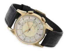 "Armbanduhr: seltene, frühe Le Coultre ""Memovox -Wristalarm"", ca.1950Ca. Ø32mm, 10K goldfilled,"
