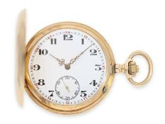 Pocket watch: especially heavy and extremely massive Ankerchronometer by Henry Moser, ca. 1905Ca.