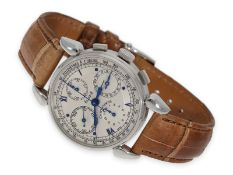 Wristwatch: like new, highly attractive Chronoswiss Chronograph Ref. CH7403 with original box and