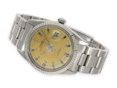 Wristwatch: large Tudor Prince Oysterdate, stainless steel, reference 7024, vintage, ca. 1971Ca.