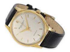 Wristwatch: early and large IWC Automatic from 1959Ca. Ø35mm, 18K gold, pressed back, case number